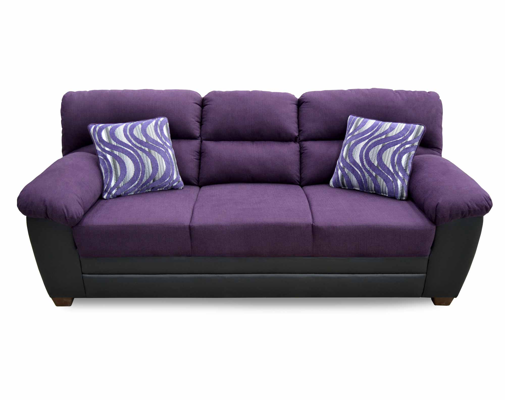 Peralta Purple Sofa
