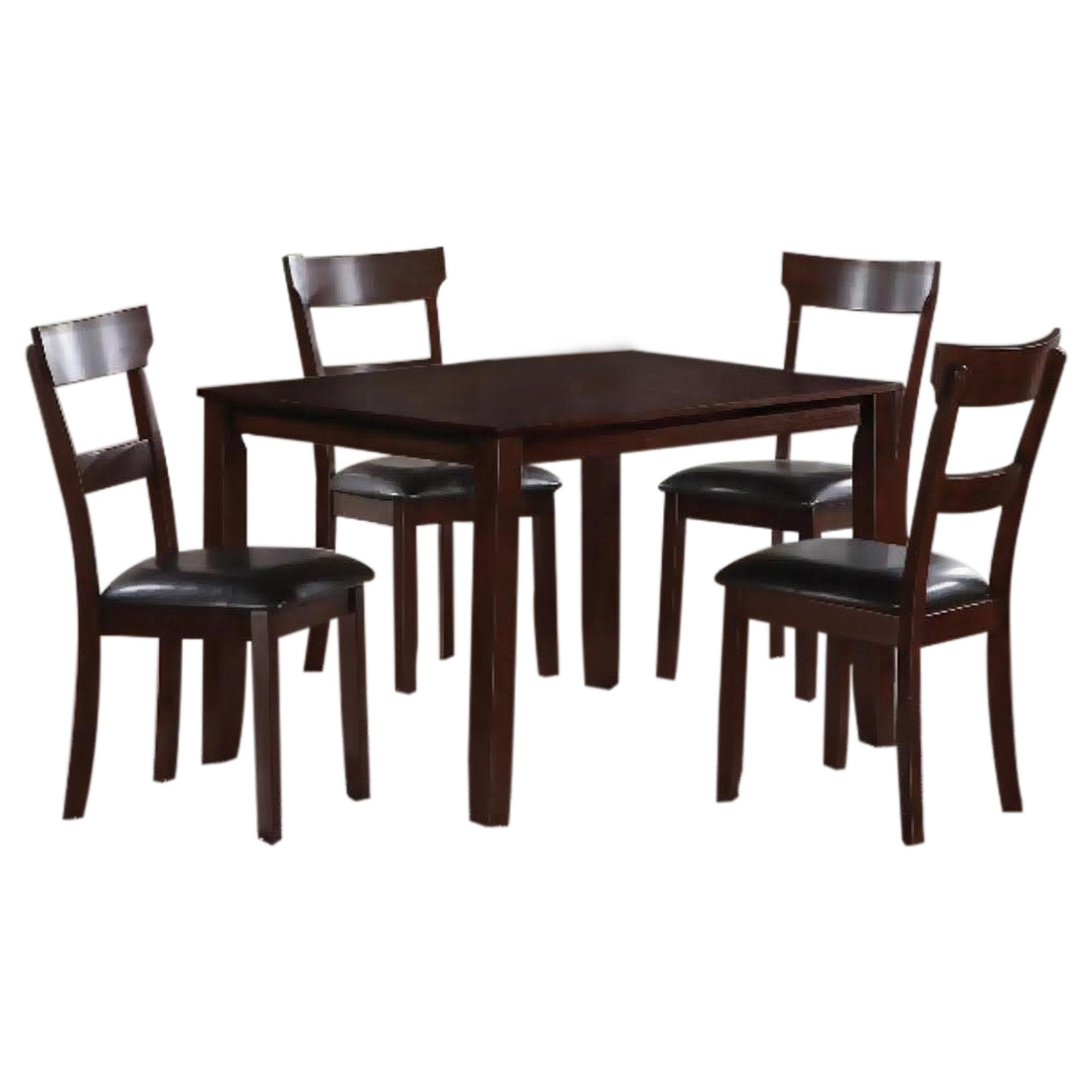 Henderson Brown 5 piece Dining Set