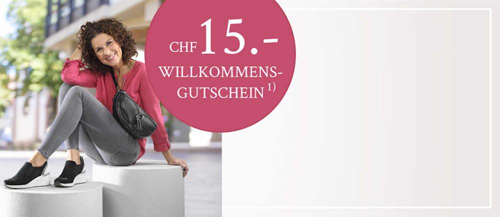 CHF 25 Gutschein für Newsletter-Abonnenten