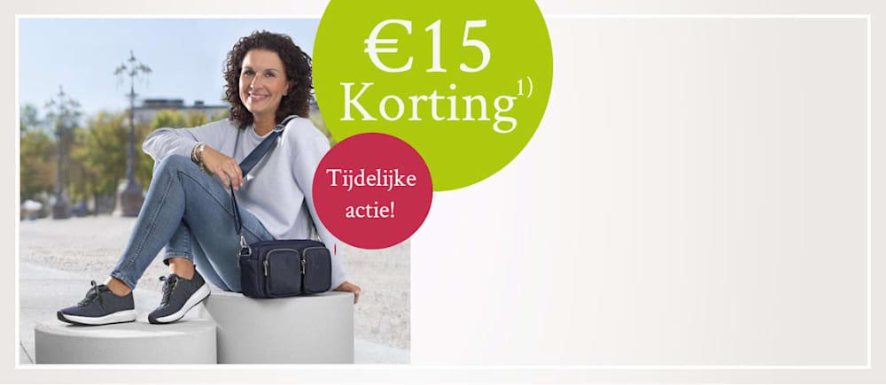 15€ Welkomst Korting