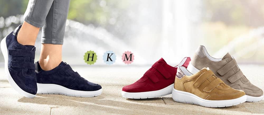 Schuhe für etwas breitere Füße