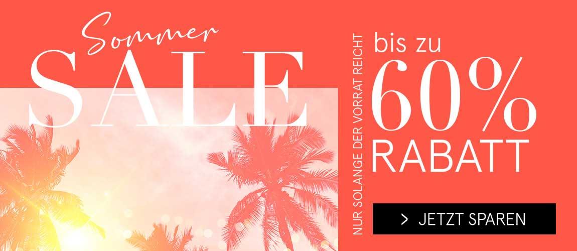 Sommer Sale bis zu 60% Rabatt