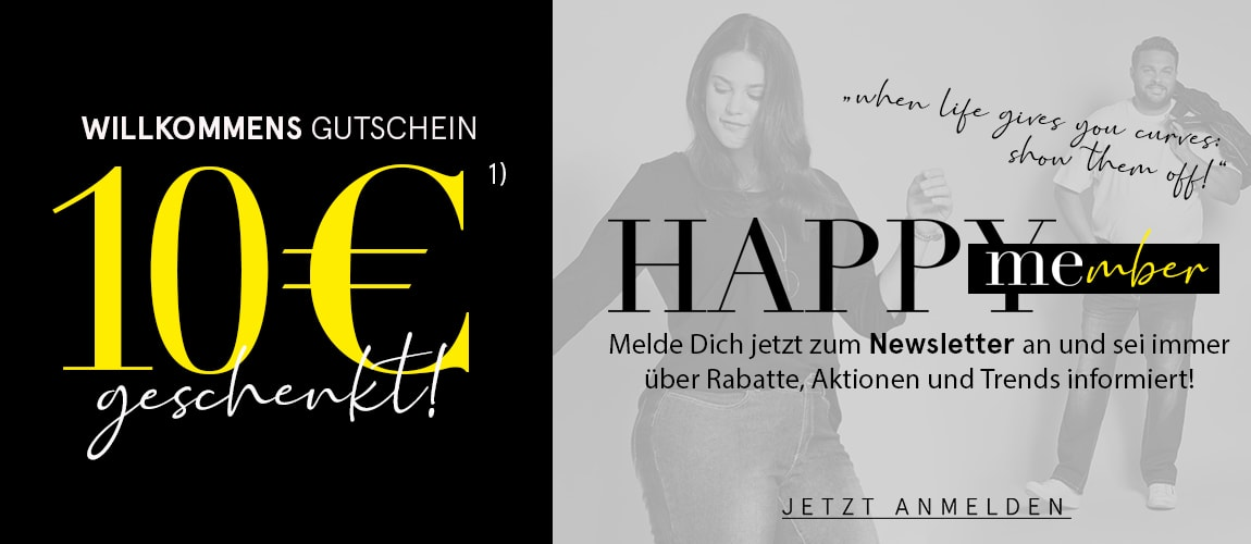 Newsletter-Anmeldung 10€ Gutschein