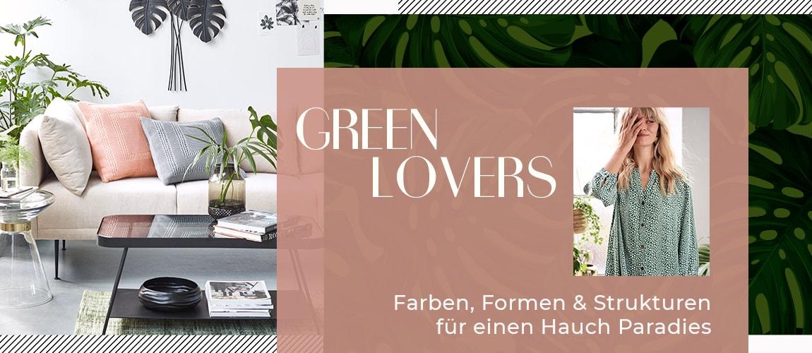 Green Lovers - jetzt entdecken