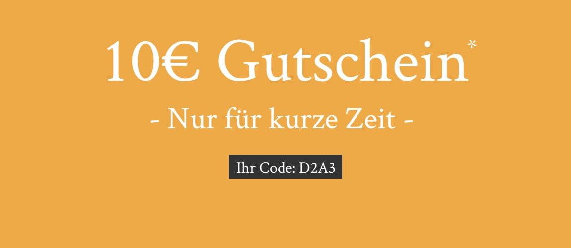 10€ Gutschein sichern