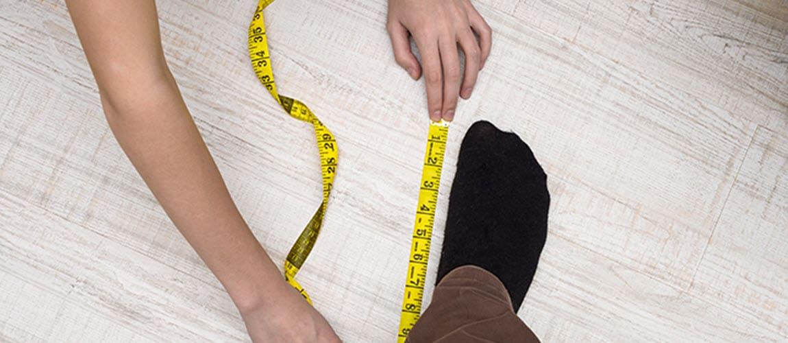 Finden Sie Ihre perfekte Schuhgröße