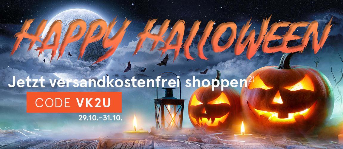 Happy Halloween - Jetzt versandkostenfrei shoppen