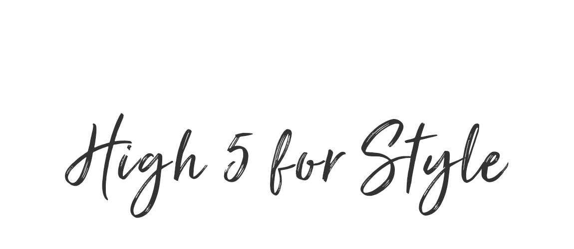 High 5 for Styles - Entdecken Sie die Lieblingsteile unserer Top-Influencer