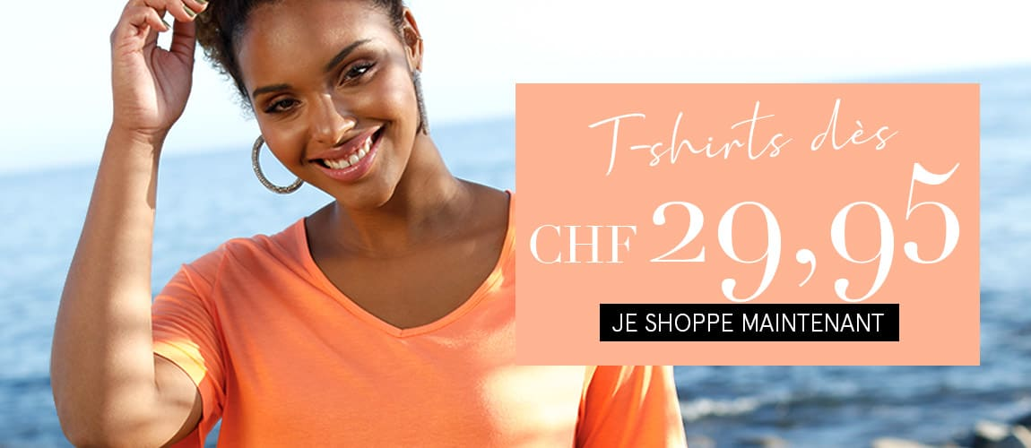 T-shirts dés CHF 29,95