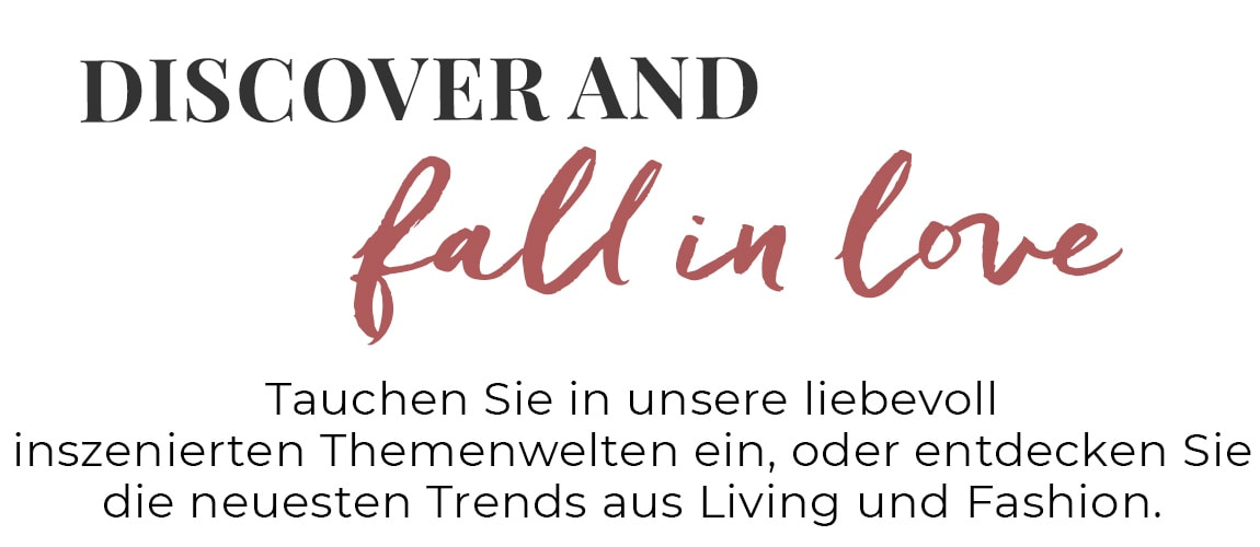 Dicover and fall in love!