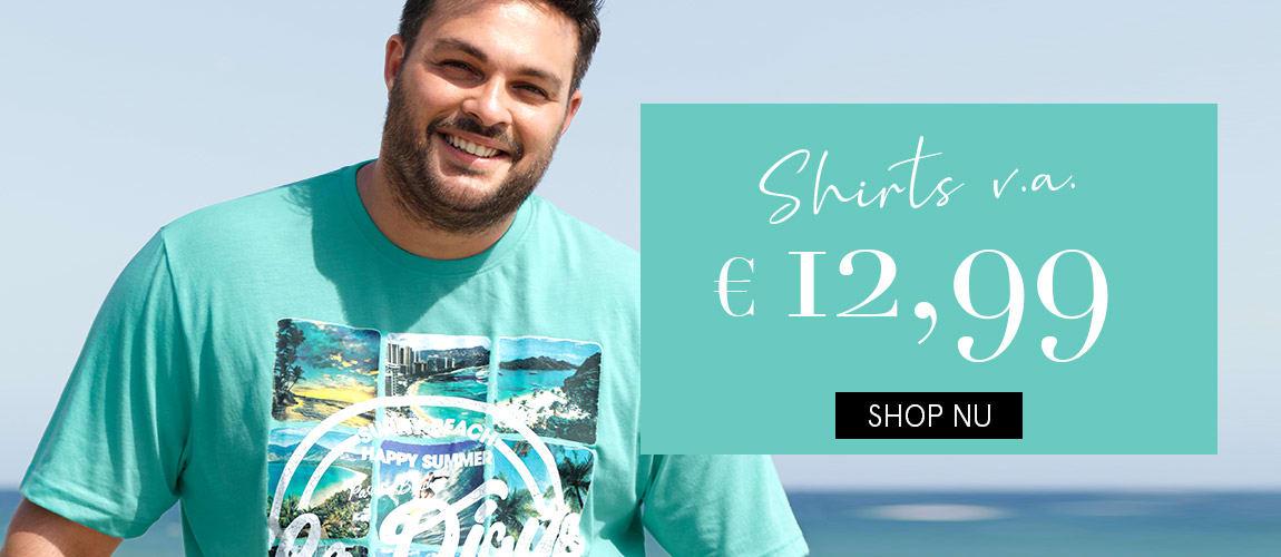Shirts v.a. €12,99