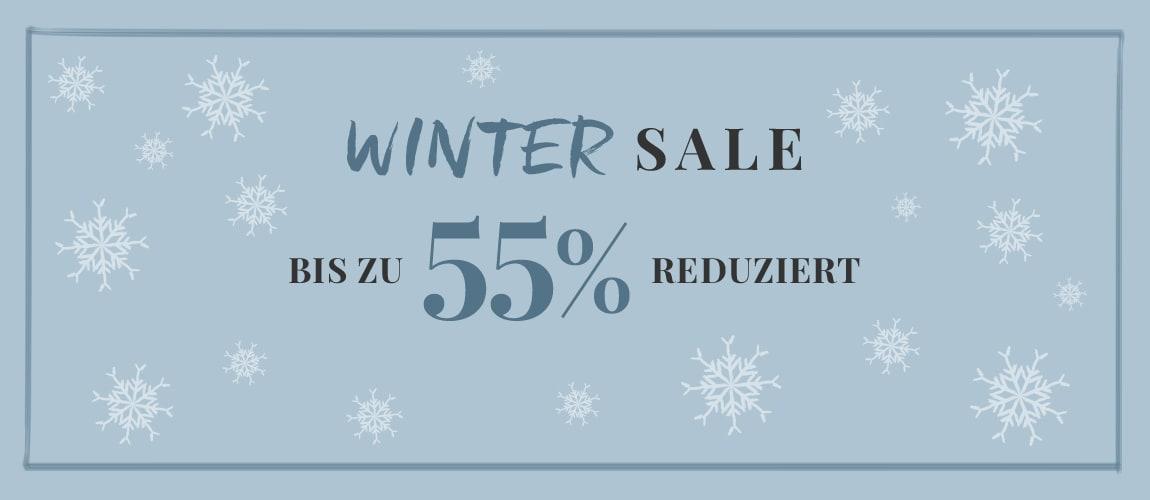 WINTER SALE - Bis zu 55% reduziert!