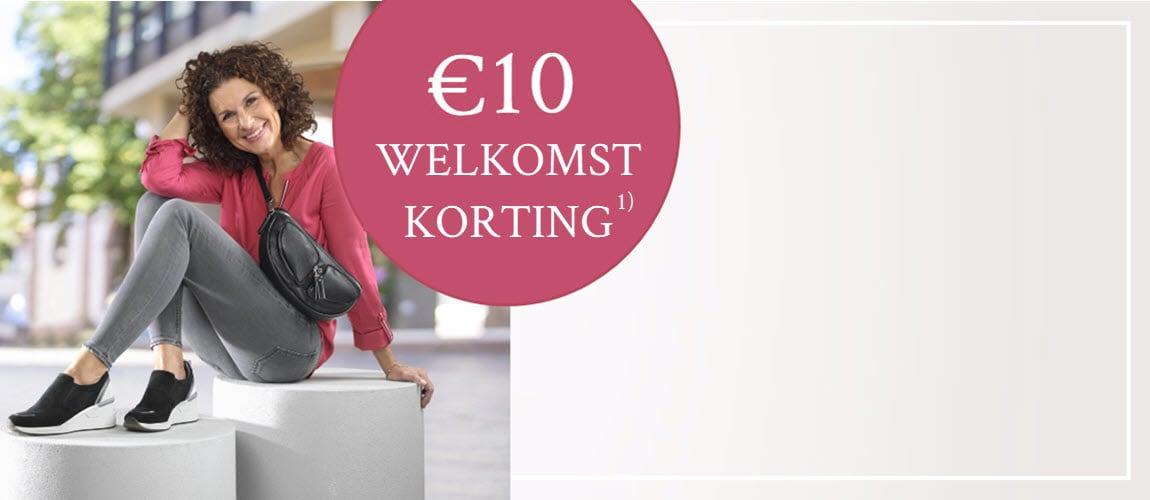 10€ Welkomst Korting