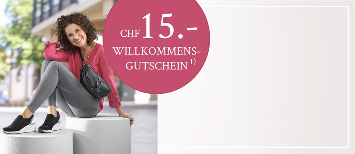 CHF 15 Gutschein für Newsletter-Abonnenten