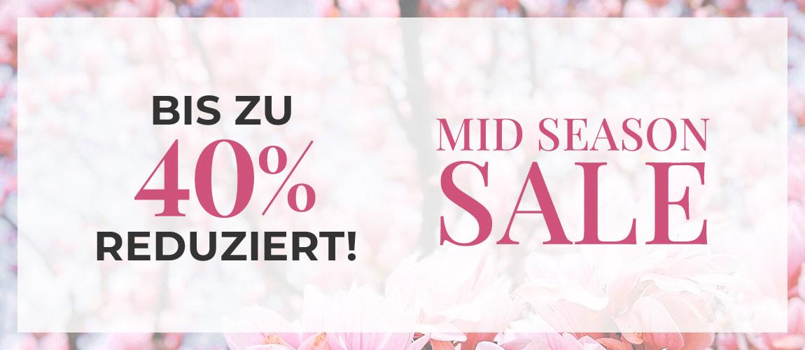 Midseason SALE - Bis zu 40% sparen!