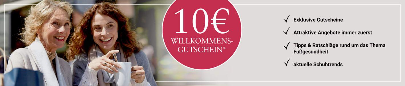 10€ Gutschein sichern bei Anmeldung zum Newsletter