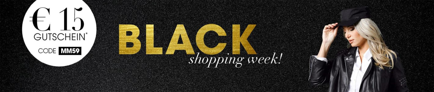 Black Week €15 Gutschein