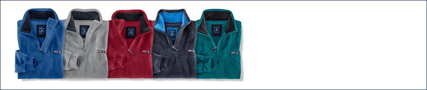 2 für 1 - Fleece-Sweatshirt