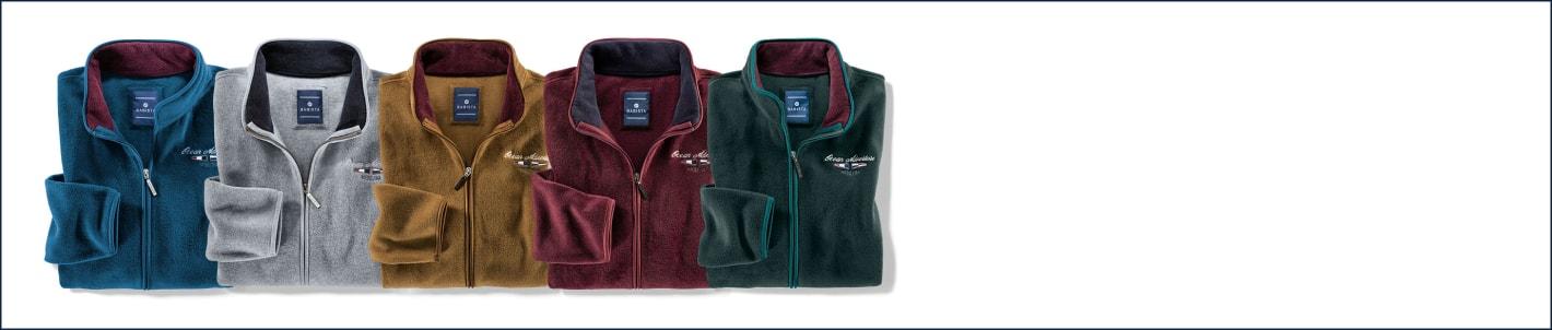 2 vor 1 - fleece sweatshirts