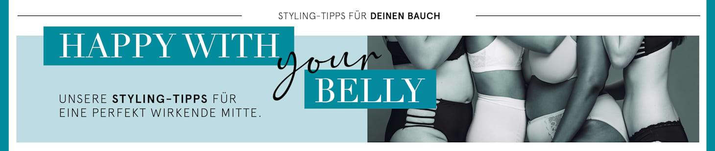 Unsere Styling-Tipps für Frauen mit Bauch