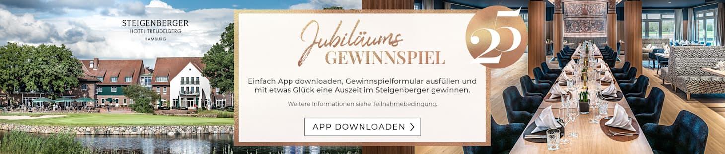 Jetzt App downloaden und mit etwas Glück eine tolle Auszeit gewinnen!