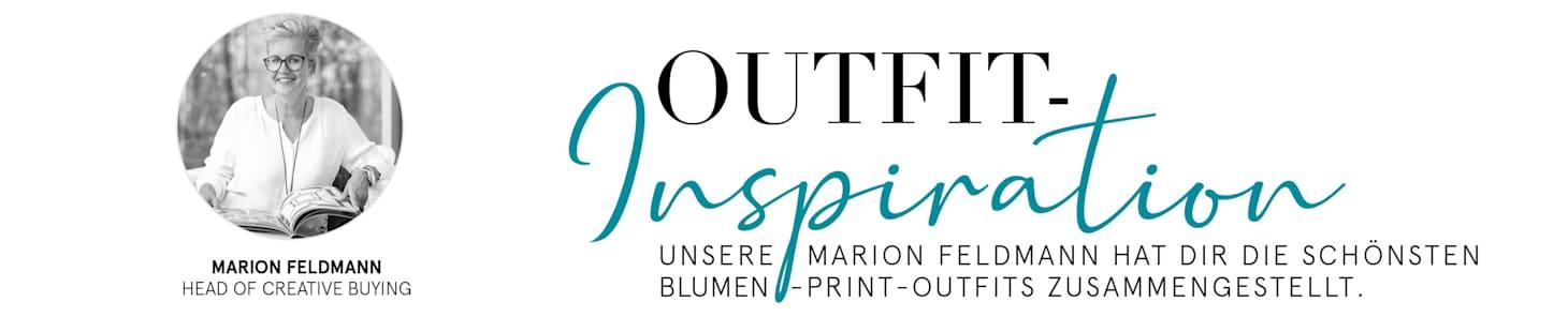 Marion Feldmann empfiehlt die schönsten Blumen Print Outfits
