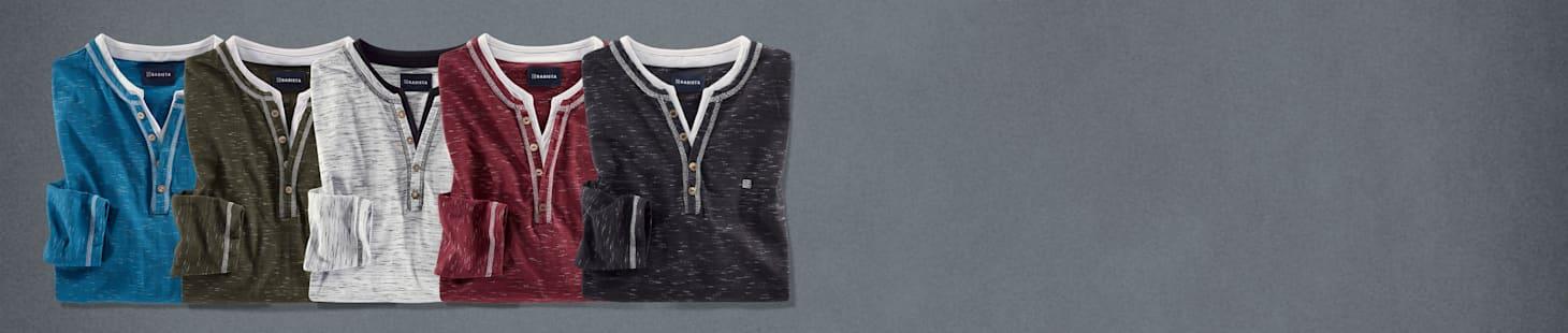 Slechts € 50: 2 shirts naar keuze in 5 verschillende kleuren