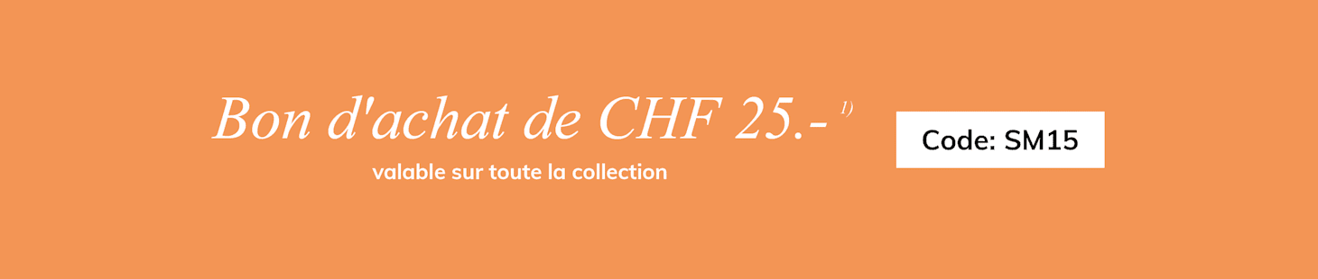 Bon d'achat de CHF 25.-