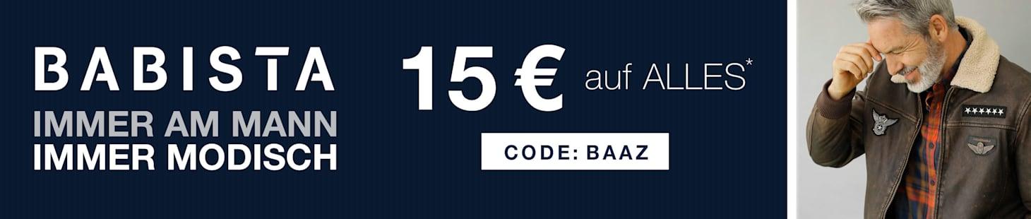 15€ auf ALLES