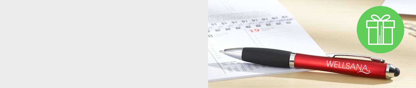 GRATIS Touch-Pen mit Kugelschreiber – gleich sichern!