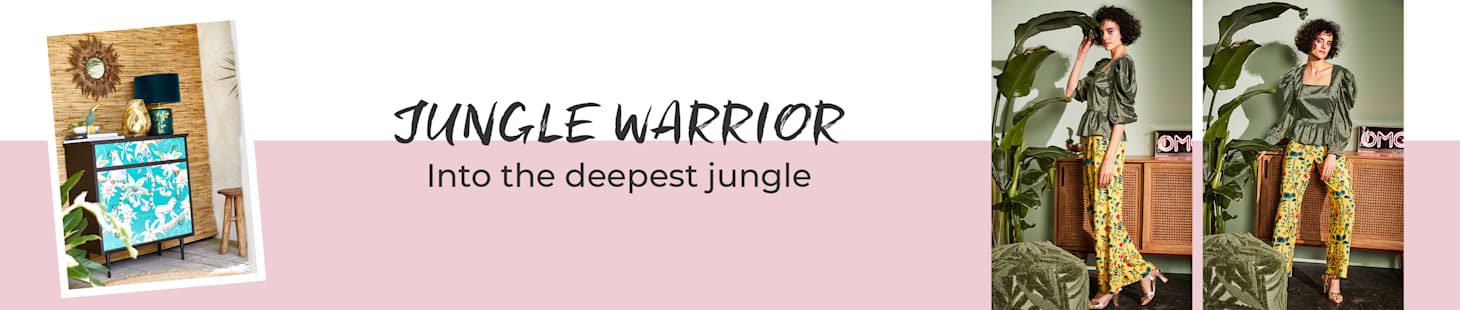 JUNGLE WARRIOR -  Jetzt entdecken