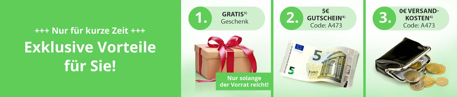 Jetzt Vorteile sichern: 🗸 Super Sparpreis-Angebote 🗸 5€-Gutschein 🗸 Gratis-Versand