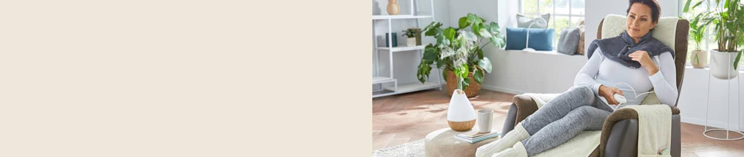 Machen Sie es sich zu Hause kuschelig-warm mit Produkten von WELLSANA