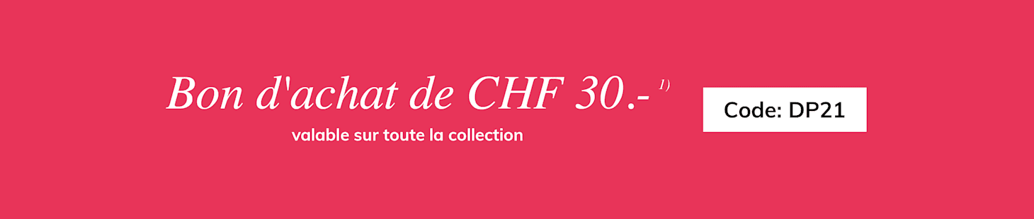 Bon d'achat de CHF 30.-