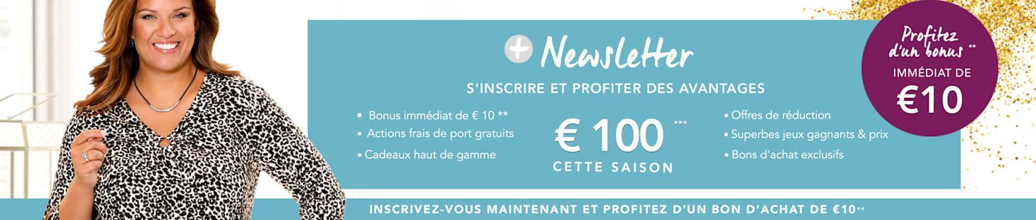 Profitez d'un bonus immédiat de €10