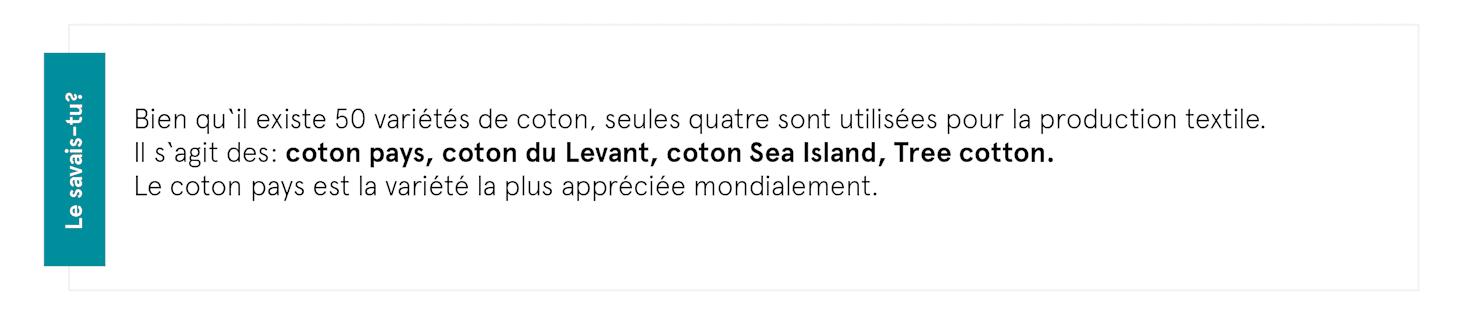 Guide matiére coton, la fibre anturelle pour des modéles tedance