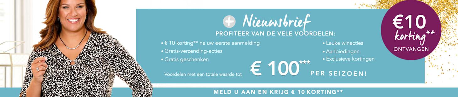 €10 korting ontvangen