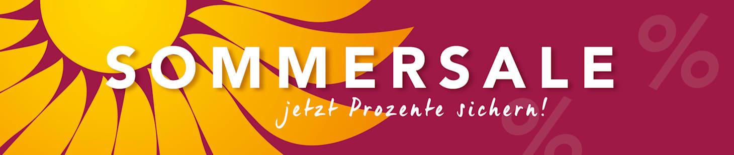 Sommersale jetzt Pozente sichern