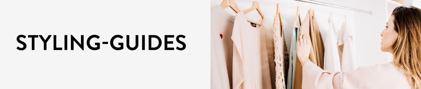 Styling-Guide, der Ihnen Beratung zu sämtlichen Kleidungsstücken bietet