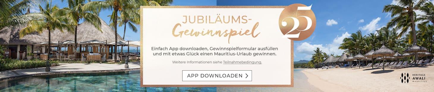 Jetzt App downloaden und mit etwas Glück eine tolle Reise gewinnen!