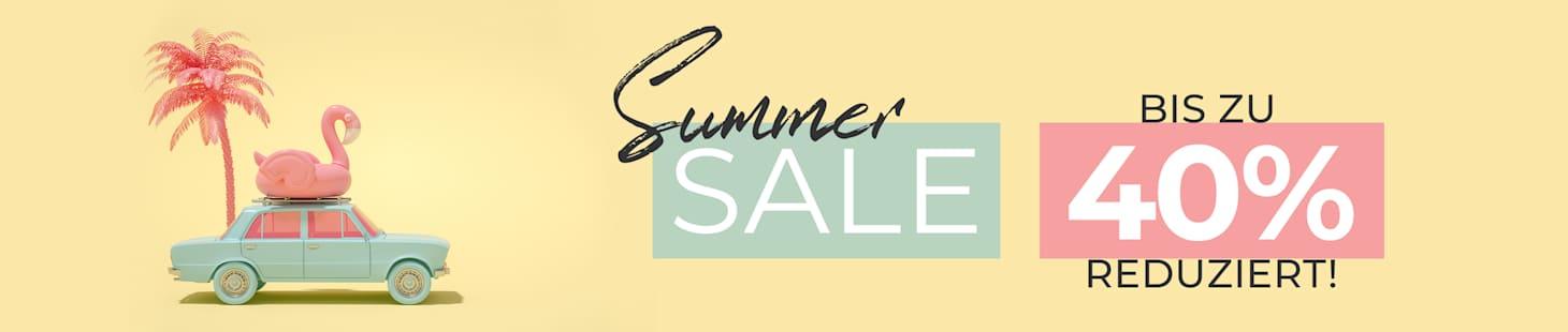 SUMMER SALE - Bis zu 40% sparen!