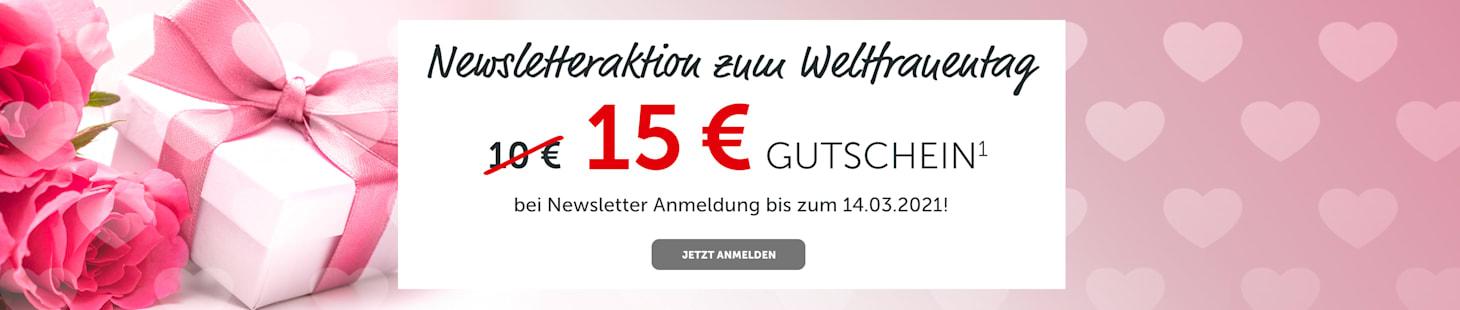 NL-Anmeldung zum Weltfrauentag