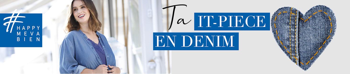 Ta it-piece en DENIM