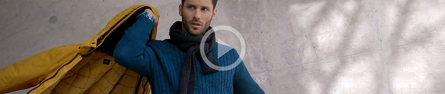 Das neue Blue-Video der Herbst-/Winterkollektion