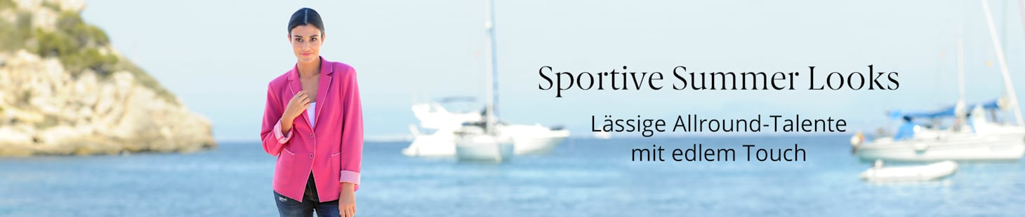 Sportive Summer Looks
