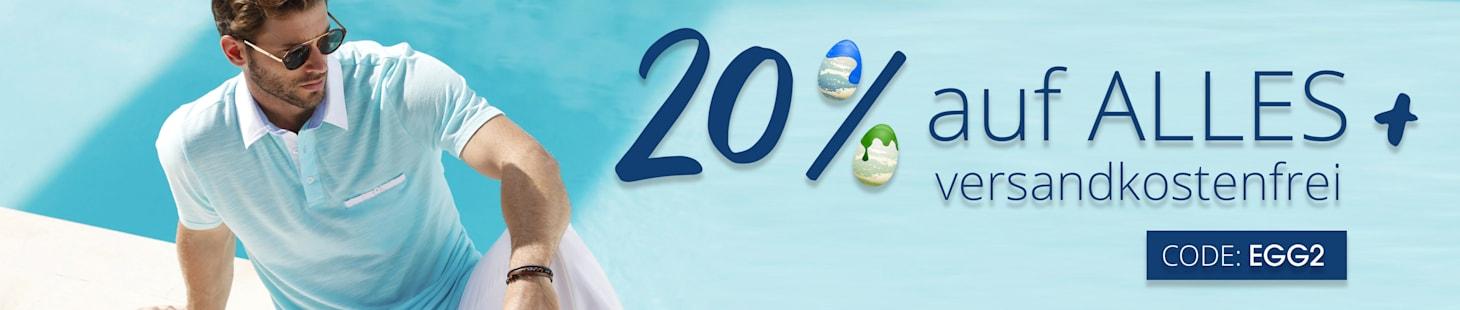 20% auf Alles + Versandkostenfrei mit dem Code: EGG2