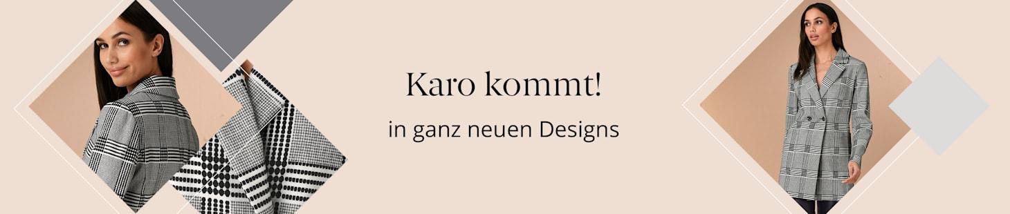 Karo kommt in ganz neuen Designs