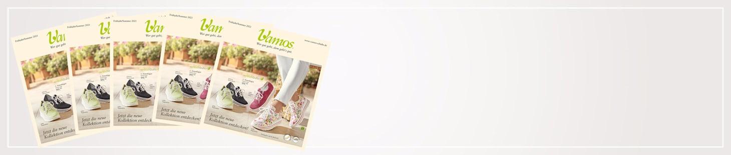 Neuster Vamos Katalog bestellen