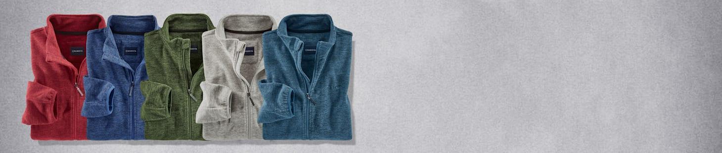 Slechts € 60: 2 fleece vests - u kunt kiezenuit 5 verschillende kleuren