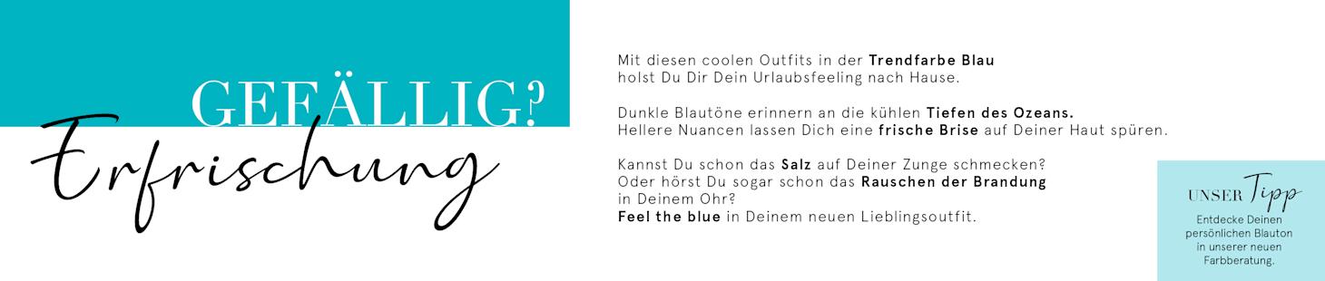 Feel the blue mit deinem 10€ Gutschein | Code: 8LUE